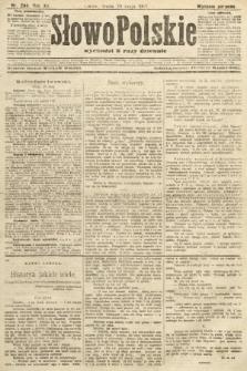 Słowo Polskie (wydanie poranne). 1907, nr244
