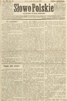 Słowo Polskie (wydanie popołudniowe). 1907, nr245
