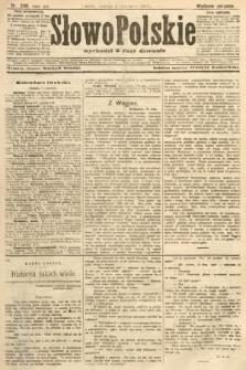 Słowo Polskie (wydanie poranne). 1907, nr249
