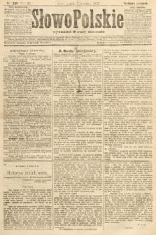 Słowo Polskie (wydanie poranne). 1907, nr259