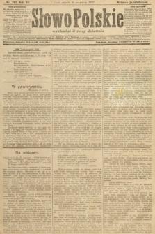 Słowo Polskie (wydanie popołudniowe). 1907, nr262