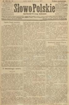 Słowo Polskie (wydanie popołudniowe). 1907, nr268