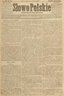 Słowo Polskie (wydanie popołudniowe). 1907, nr272