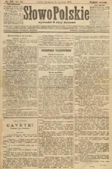 Słowo Polskie (wydanie poranne). 1907, nr275