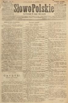 Słowo Polskie (wydanie poranne). 1907, nr277