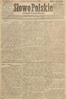 Słowo Polskie (wydanie popołudniowe). 1907, nr278