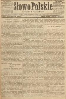 Słowo Polskie (wydanie popołudniowe). 1907, nr280