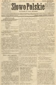 Słowo Polskie (wydanie popołudniowe). 1907, nr286
