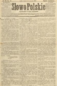 Słowo Polskie (wydanie popołudniowe). 1907, nr290