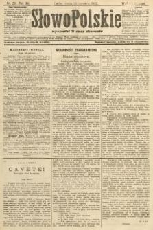 Słowo Polskie (wydanie poranne). 1907, nr291