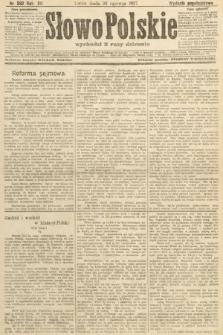 Słowo Polskie (wydanie popołudniowe). 1907, nr292