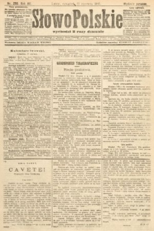 Słowo Polskie (wydanie poranne). 1907, nr293