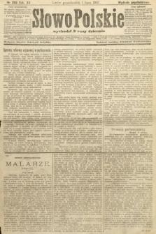 Słowo Polskie (wydanie popołudniowe). 1907, nr299