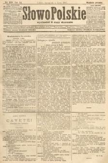 Słowo Polskie (wydanie poranne). 1907, nr304