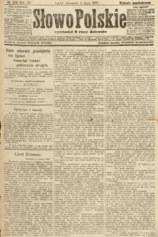 Słowo Polskie (wydanie popołudniowe). 1907, nr305