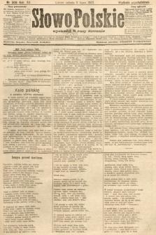 Słowo Polskie (wydanie popołudniowe). 1907, nr309