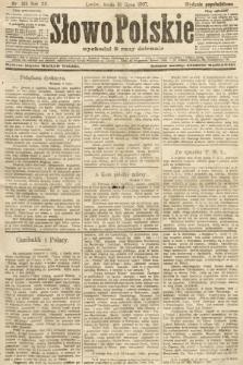 Słowo Polskie (wydanie popołudniowe). 1907, nr315