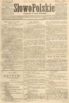 Słowo Polskie (wydanie poranne). 1907, nr316