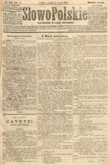Słowo Polskie (wydanie poranne). 1907, nr318