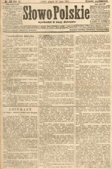 Słowo Polskie (wydanie popołudniowe). 1907, nr319