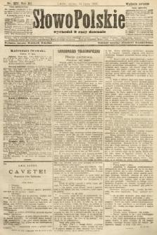 Słowo Polskie (wydanie poranne). 1907, nr320