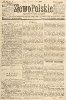 Słowo Polskie (wydanie poranne). 1907, nr322