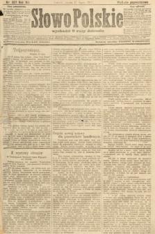 Słowo Polskie (wydanie popołudniowe). 1907, nr327