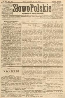 Słowo Polskie (wydanie poranne). 1907, nr328