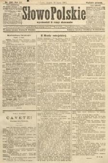 Słowo Polskie (wydanie poranne). 1907, nr330