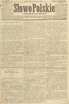 Słowo Polskie (wydanie popołudniowe). 1907, nr331