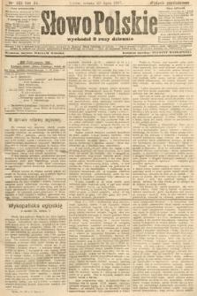 Słowo Polskie (wydanie popołudniowe). 1907, nr333