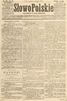 Słowo Polskie (wydanie poranne). 1907, nr334