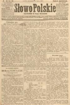 Słowo Polskie (wydanie popołudniowe). 1907, nr341