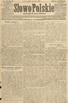 Słowo Polskie (wydanie popołudniowe). 1907, nr343