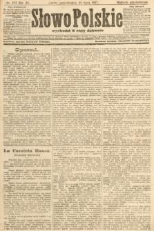 Słowo Polskie (wydanie popołudniowe). 1907, nr347