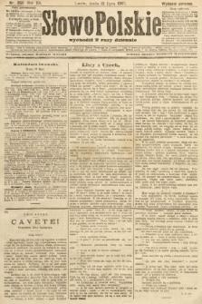 Słowo Polskie (wydanie poranne). 1907, nr350