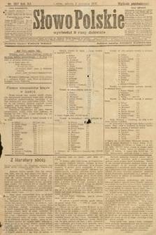Słowo Polskie (wydanie poranne). 1907, nr357