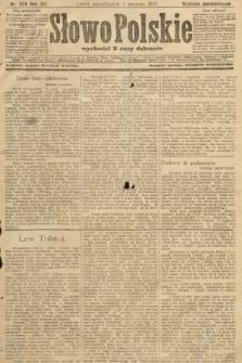 Słowo Polskie (wydanie popołudniowe). 1907, nr359
