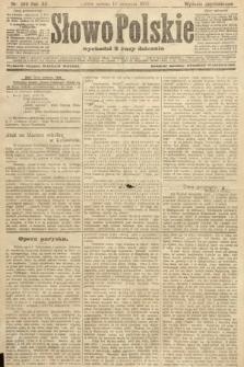 Słowo Polskie (wydanie popołudniowe). 1907, nr369