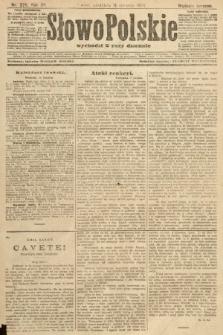Słowo Polskie (wydanie poranne). 1907, nr370
