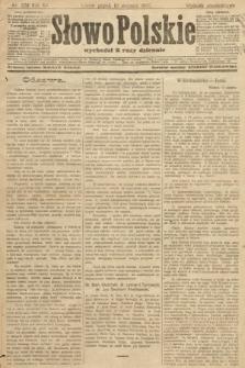 Słowo Polskie (wydanie popołudniowe). 1907, nr378