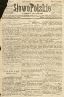 Słowo Polskie (wydanie poranne). 1907, nr387