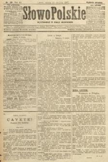 Słowo Polskie (wydanie poranne). 1907, nr391