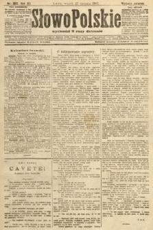 Słowo Polskie (wydanie poranne). 1907, nr395