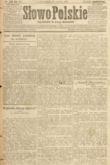 Słowo Polskie (wydanie popołudniowe). 1907, nr396