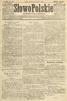 Słowo Polskie (wydanie poranne). 1907, nr397