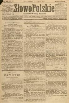 Słowo Polskie (wydanie poranne). 1907, nr399