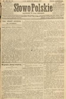 Słowo Polskie (wydanie popołudniowe). 1907, nr402