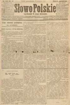 Słowo Polskie (wydanie popołudniowe). 1907, nr406