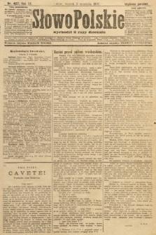 Słowo Polskie (wydanie poranne). 1907, nr407